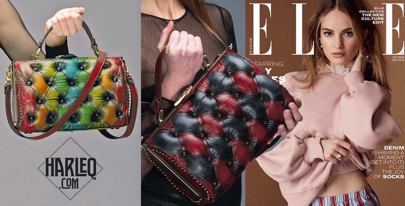 harleq bags elle uk advert