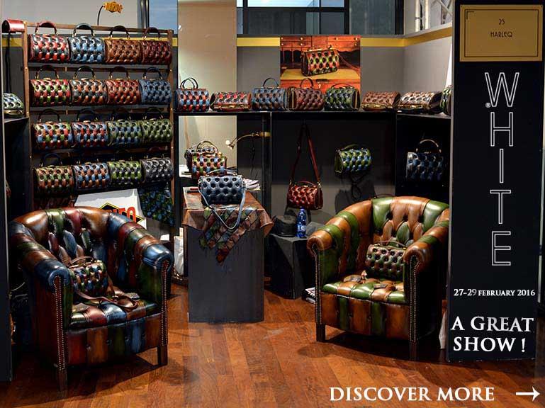harleq bag luxury leathers borse pelle milano
