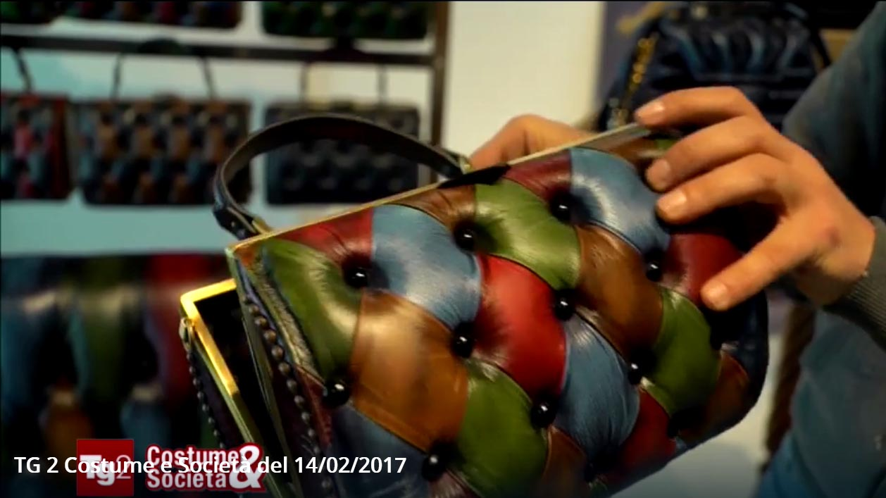 harleq bag unique luxury leathers interview tv rai2