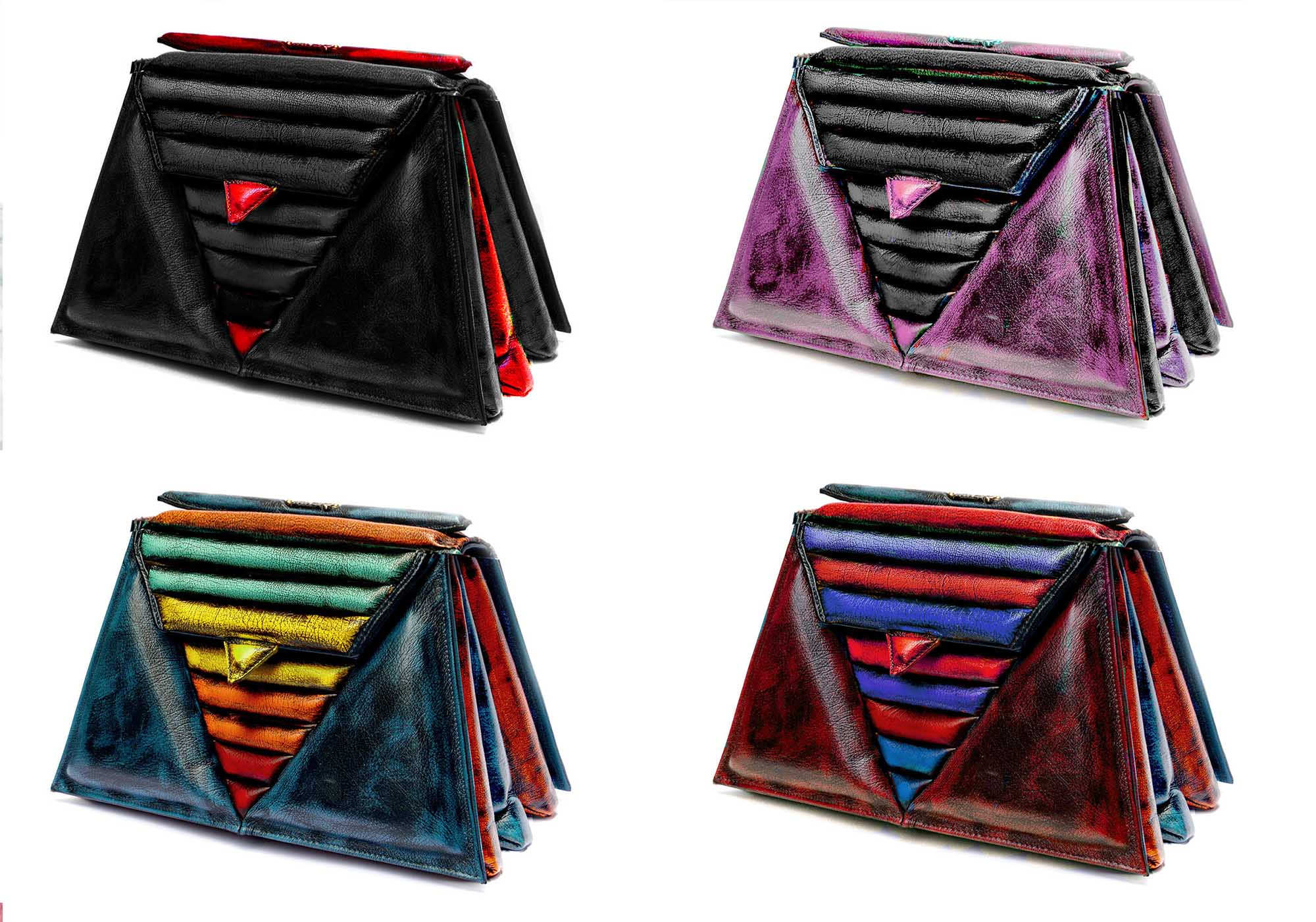 luxury-harleq-leather-triangles-bag