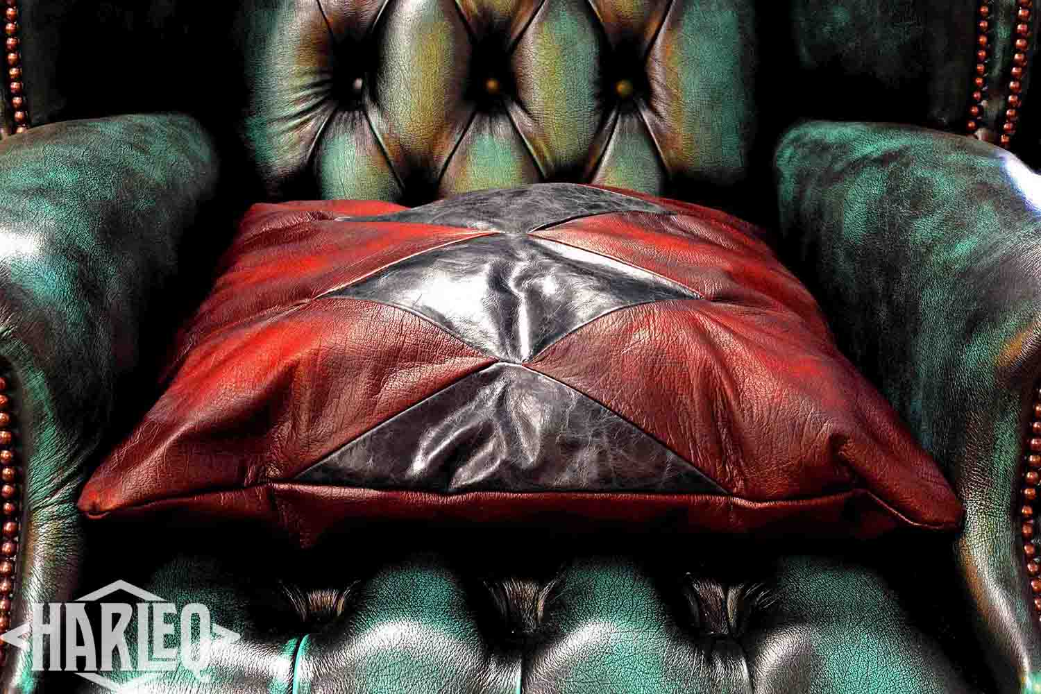 black-red-pillows-leather