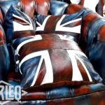 british england flag cushion-pillow