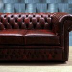 luxury-chesterfield-embossed-floreal-red-leather