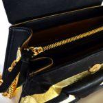 gold pochette harleq open