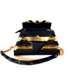 golden-leather-pochette-harleq-sphinx-front-open