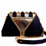 golden pochette harleq sphinx back