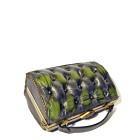 green black handbag