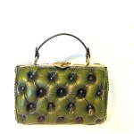 green leather chester bag