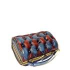 handbag red harleq bag leather