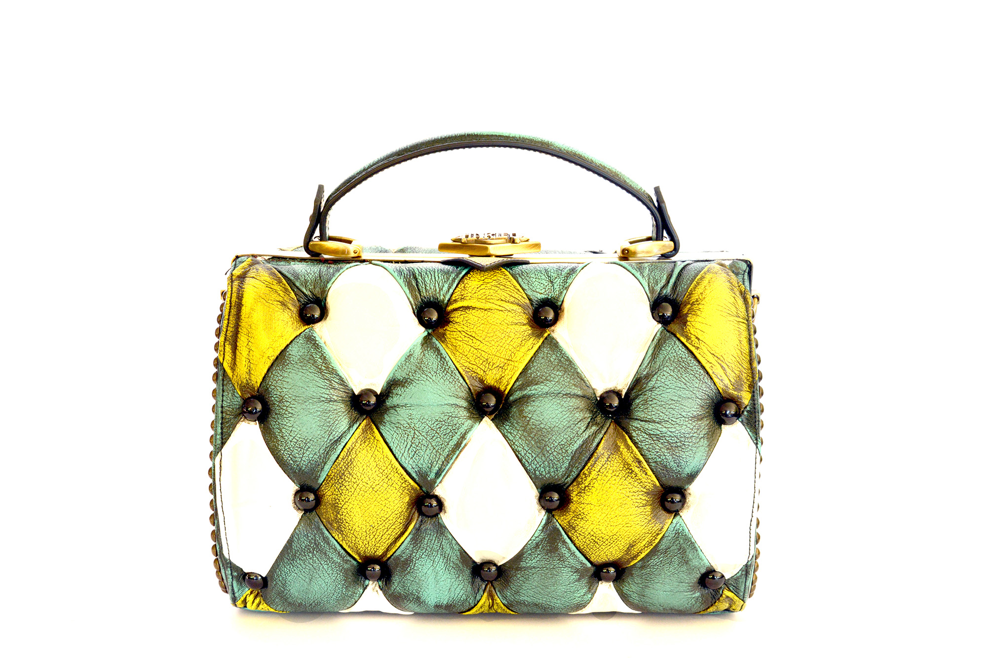 harleq-bag-turquoise-yellow-vintage-leathers