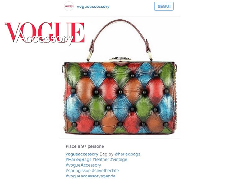 harleq bag vogue accessory