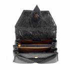 harleq-black-leather-bag-open
