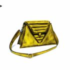 harleq luxury lemon yellow leather