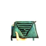 harleq-mini-luxury-triangles-leather-handbags