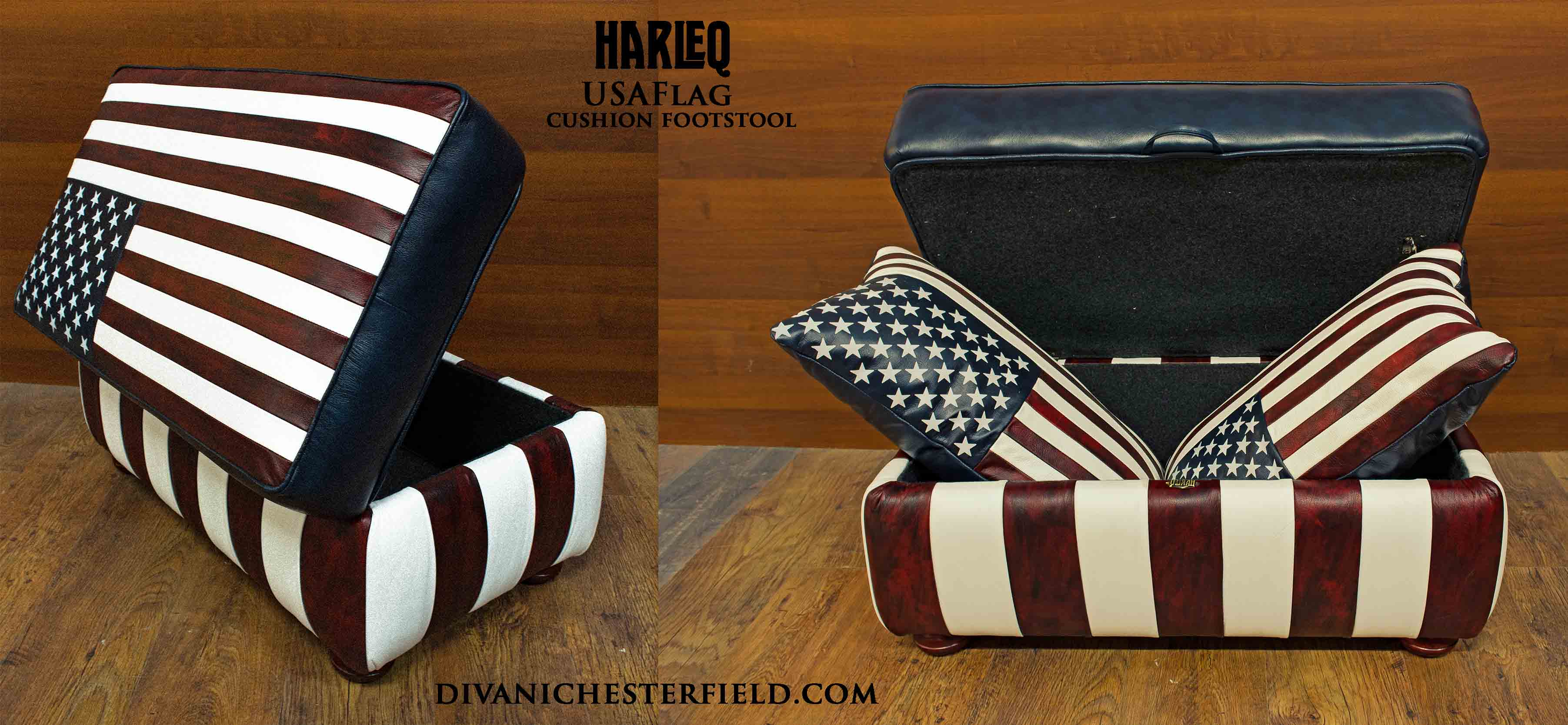 leather-usa-flag-patchwork-ottoman-cushion-footstool