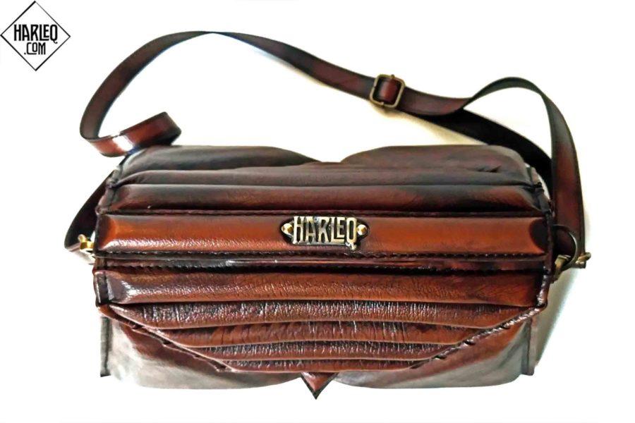 luxury-brown-harleq-triangles-handbags