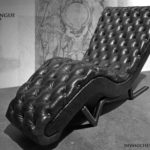 luxury chesterfield-chaise-longue-harleq black grey leathers