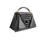 luxury-handbag-harleq-black-leather-triangles-side