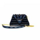 luxury pochette blue modern harleq sphinx