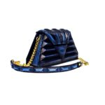 luxury pochette blue modern harleq sphinx
