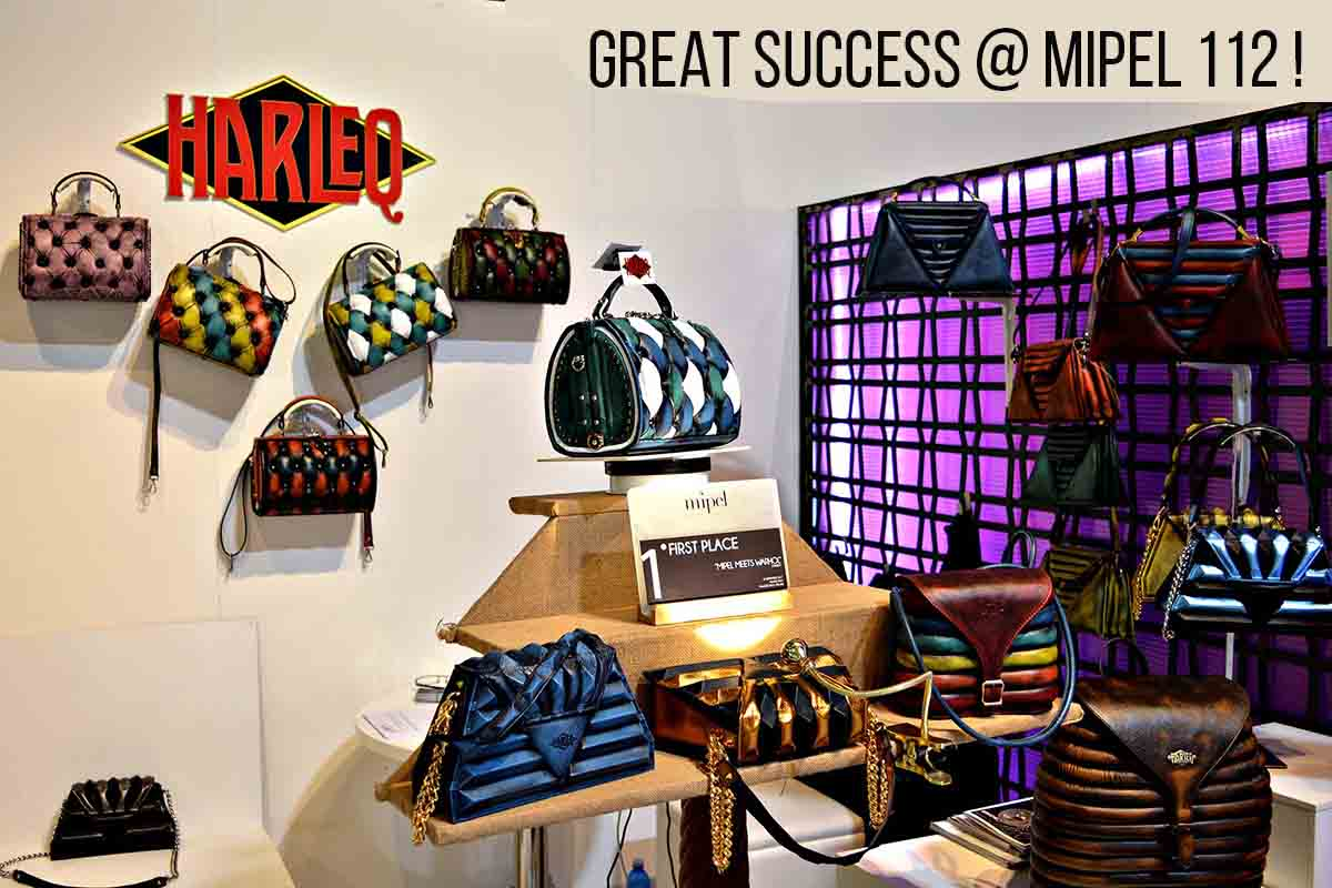 harleq luxury handbags mipel tradeshow