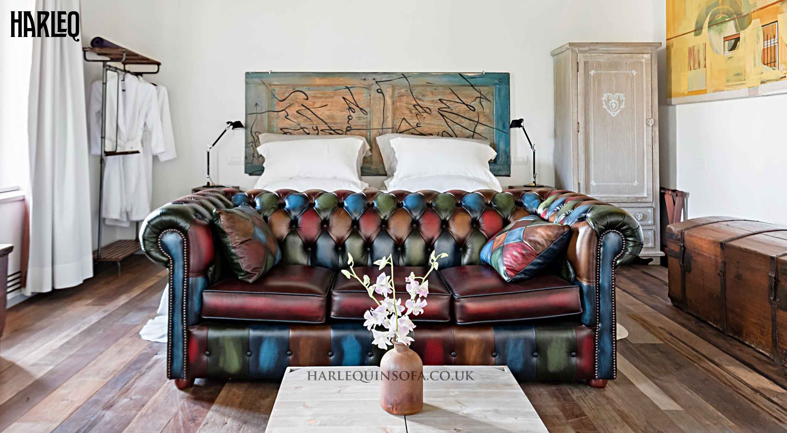 multicoloured-patchwork-leather-chesterfield