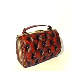 red leather bag luxury cherry