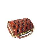 red leather bag vintage harleq