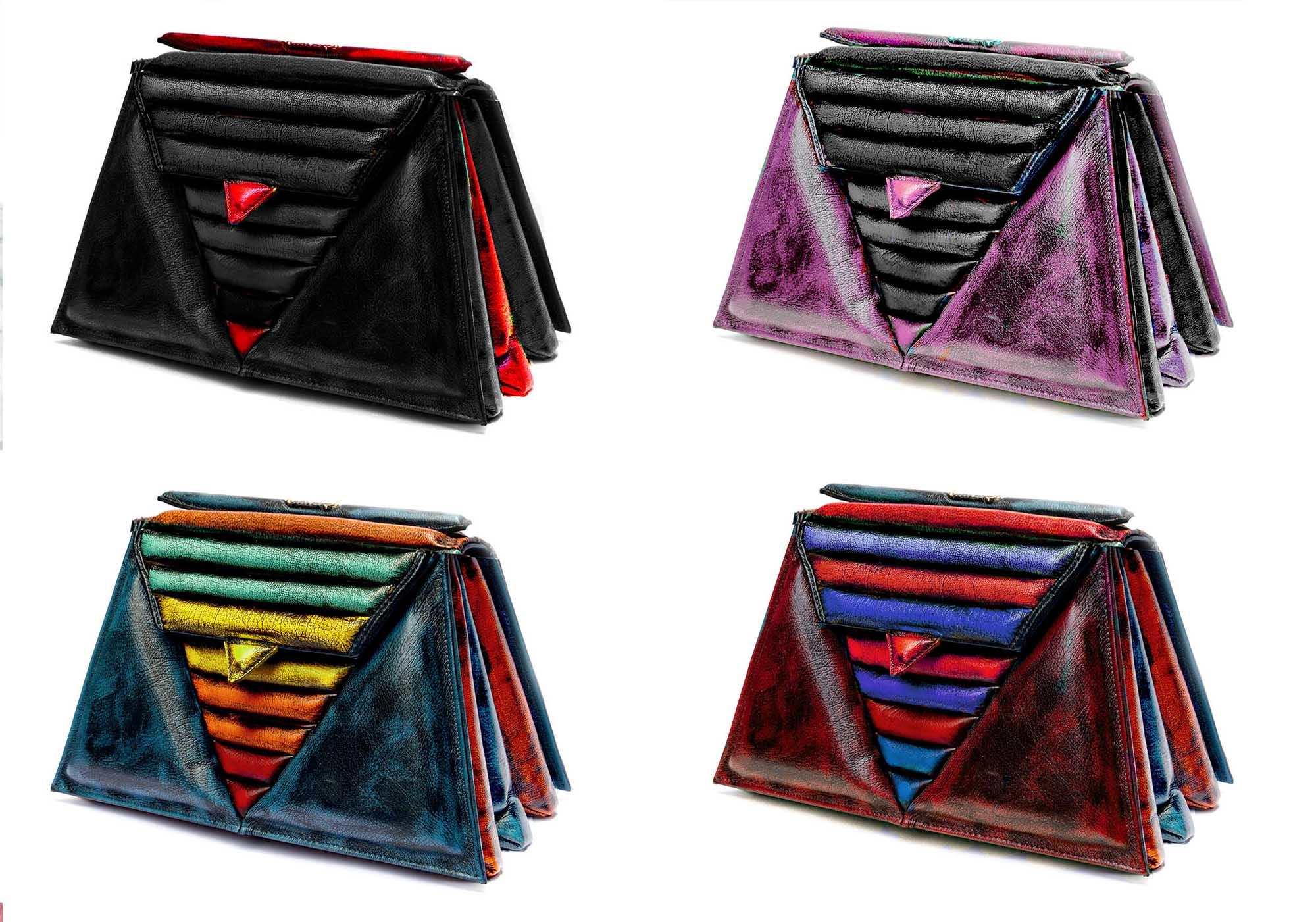 luxury-harleq-leather-triangles-bag