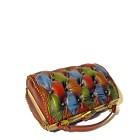 borsa vintage handbag leather harleq